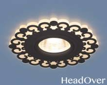 Точечный светодиодный светильник Elektrostandard 2196 MR16 BK черный