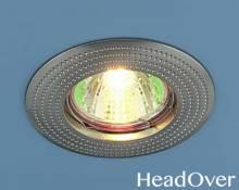 Точечный светильник Electrostandard 601 сатин никель