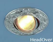 Точечный светильник Electrostandard 711 хром