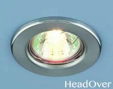 Точечный светильник Electrostandard 9210 хром матовый