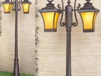 Уличный фонарь Electrostandard Libra F/2 (арт. GLXT-1408F/2) венге