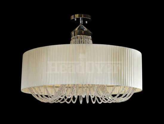Потолочный светильник Newport 1406/S бежевый хром