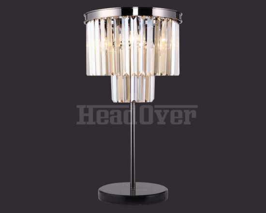 Настольная лампа Divinare 3002/06TL-3 Nova Cognac