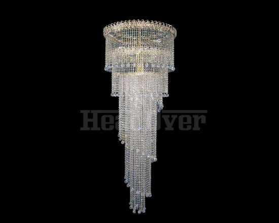 Каскад Гусь-Хрустальный Винтаж высота 3 метра 18 ламп 489-5