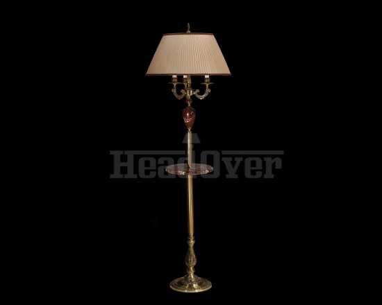 Торшер со столиком Фотон 52-08.57/14157С