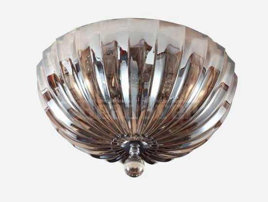 Потолочный светильник Newport 62004/PL cognac хром