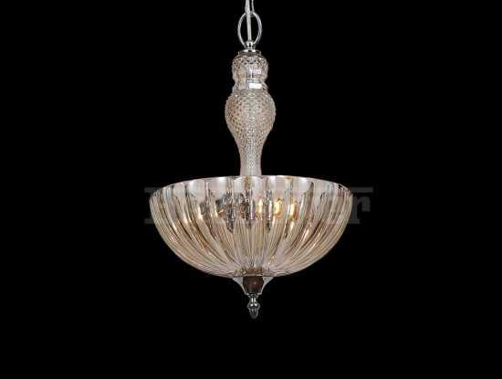 Подвесной светильник Newport 6703/S cognac хром