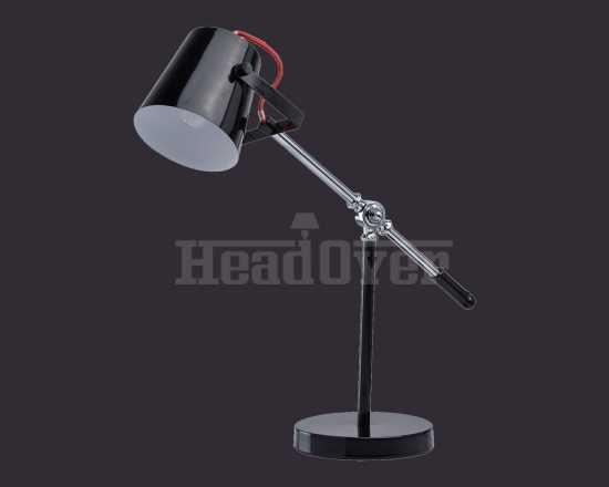 Настольная лампа чёрная Mw-light 680030601 Акцент