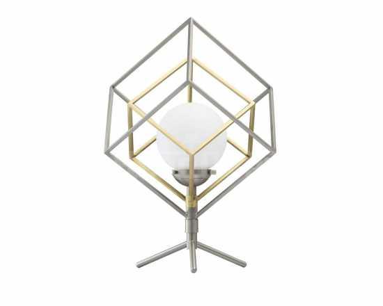 Настольная лампа куб DeMarkt 726030401 Призма