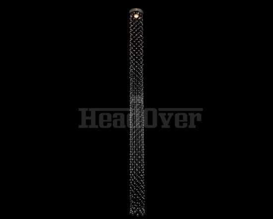 Потолочный светильник Newport 8031/250 cognac хром