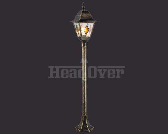 Уличный наземный светильник Arte Lamp A1016PA-1BN Berlin