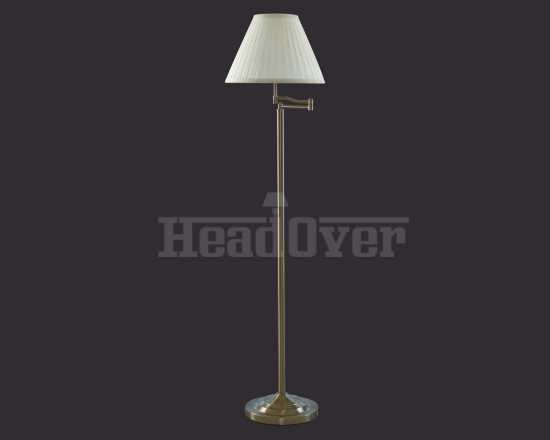 Торшер Arte Lamp A2872PN-1AB California