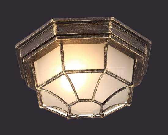 Уличный светильник Arte Lamp A3121PF-1BN Pegasus