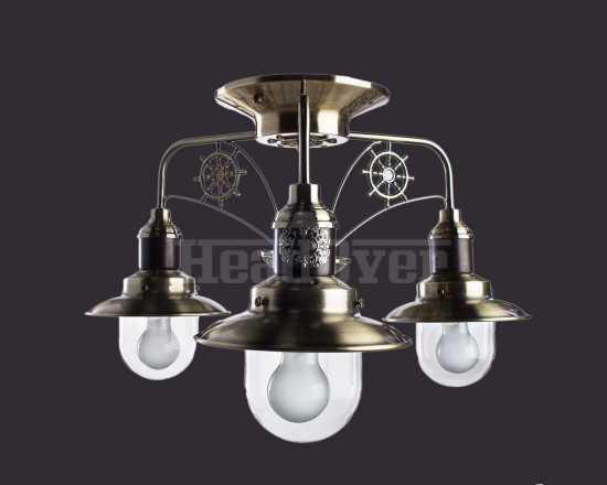 Люстра Arte Lamp A4524PL-3AB Sailor 3хE27х60Вт