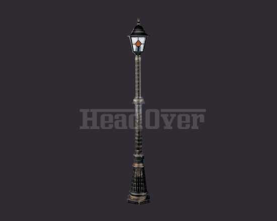 Уличный наземный светильник Arte Lamp A1017PA-1BN Berlin