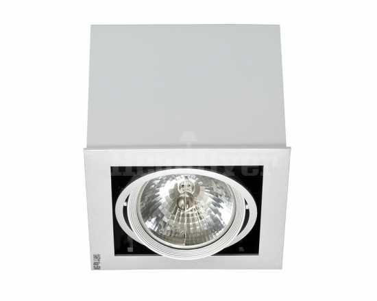 Встраиваемый светильник Nowodvorski BOX gray I 5315