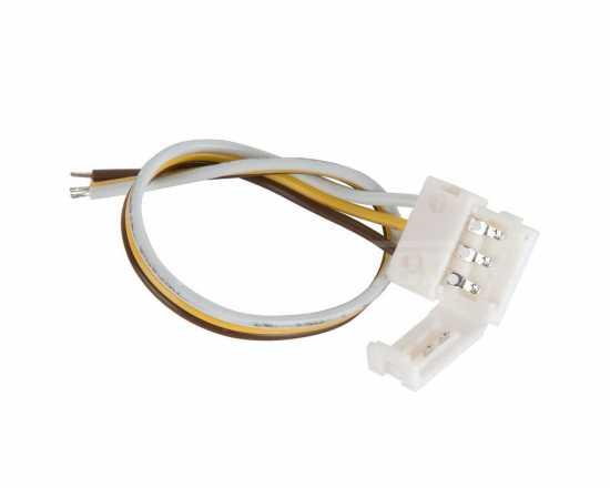 Аксессуары для светодиодной ленты Elektrostandard Коннектор для светодиодной ленты «Бегущая волна» гибкий односторонний