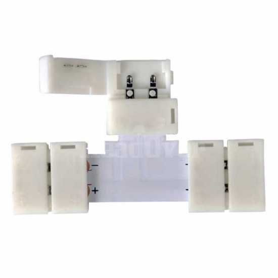 LED 2T коннектор для 5050 одноцветной светодиодной ленты Elektrostandard