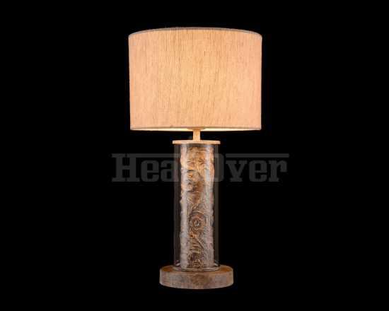 Настольная лампа из массива дерева Maytoni ARM526TL-01GR