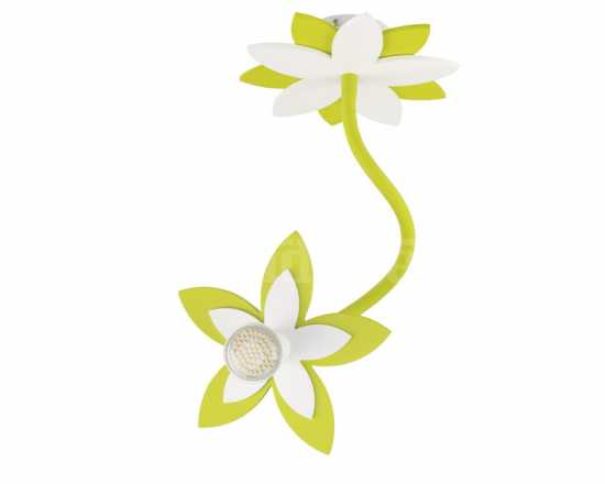 Настенно-потолочный светильник Nowodvorski FLOWERS GREEN I kinkiet 6897