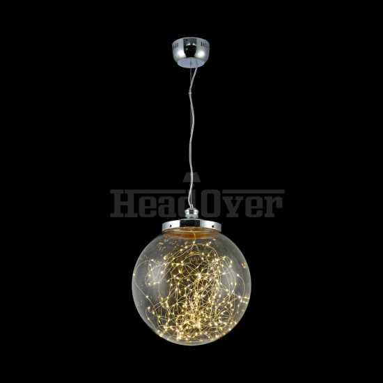 Светильник шар светящийся внутри Freya FR6157-PL-24W-TR Isabel