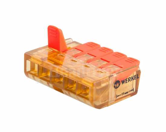 Клемма рычажная 5-проводная Elektrostandard TR-02-05