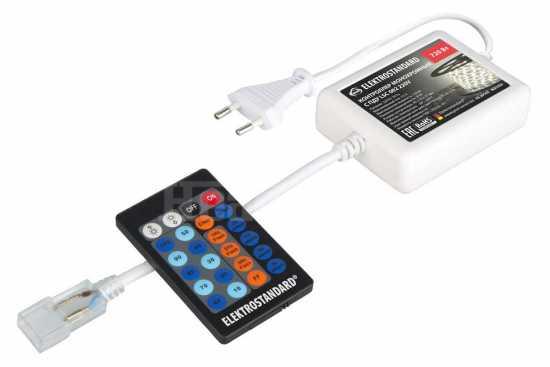 Контроллер для монохромных светодиодных лент С ПДУ Elektrostandard LSC 002 220V