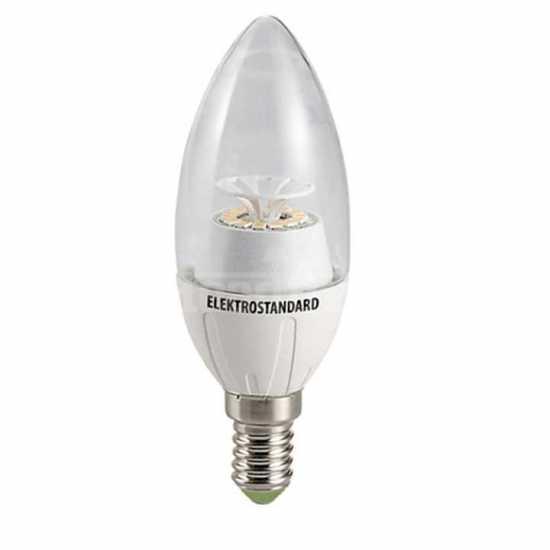 Лампа светодиодная Elektrostandard Свеча CR 14SMD 4W 6500K E14