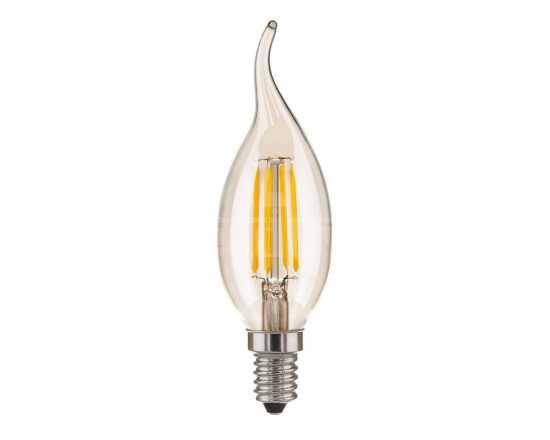 Лампа светодиодная Elektrostandard Свеча на ветру BL120 6W 3300K E14