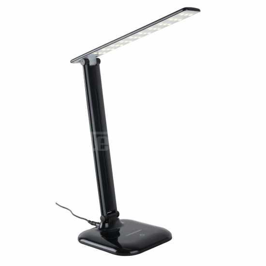 Настольный светодиодный светильник Elektrostandard L90200 Alcor черный