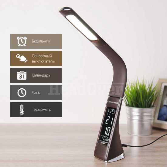 Настольный светодиодный светильник Elektrostandard TL90220 Elara коричневый
