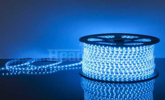 Светодиодная лента Elektrostandard LSTR001 220V 4,4W IP65 синий