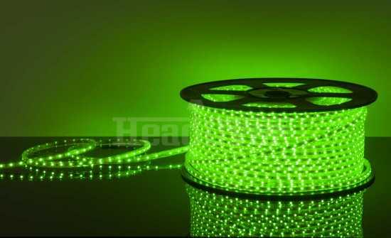 Светодиодная лента Elektrostandard LSTR001 220V 4,4W IP65 зеленый