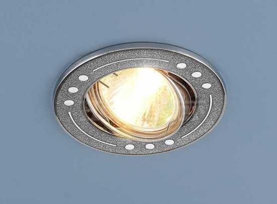 Точечный светильник Elektrostandard 612A SH SL (серебро блеск/хром)