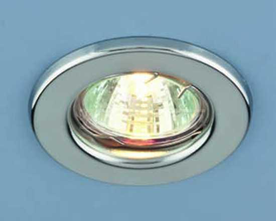Точечный светильник Electrostandard 9210 хром