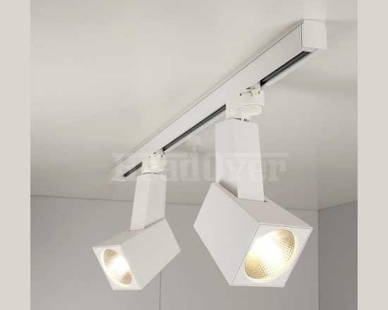 Трековый светодиодный светильник Elektrostandard Perfect Белый 38W 4200K (LTB14)
