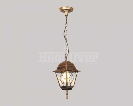 Уличный светильник Electrostandard Vega H черное золото