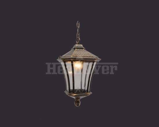 Уличный светильник Electrostandard Virgo H черное золото