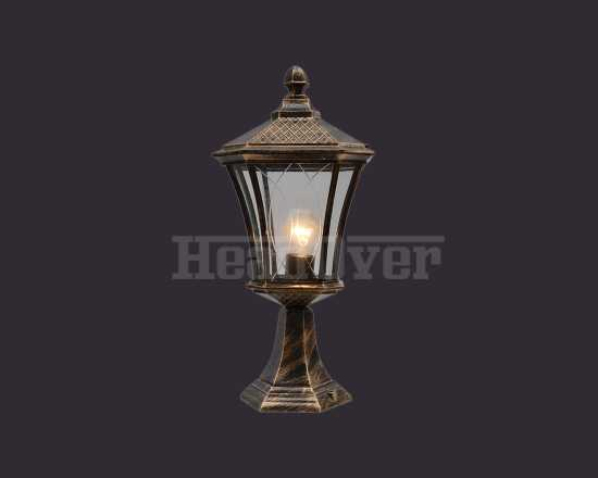 Уличный светильник Electrostandard Virgo S (арт. GLXT-1450S) черное золото