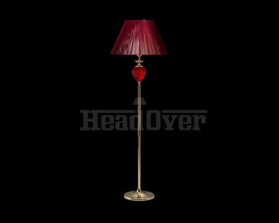 Торшер красный Good light 50-09N/45009