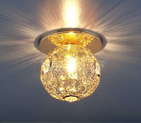 Светильник точечный Elektrostandard 1002 GD (золото)